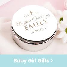 personalised baby gifts for christenings