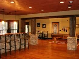 rustic basement ideas new at popular home design bar for inspire designs gallery of decorat decorating wall decor images ceiling finished