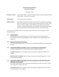 USBE FINANCE COMMITTEE Summary of Actions February 7, 2019 Members Present:  Laura Belnap, Mark Huntsman, Michelle Boulter, Shawn