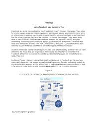 formal report on social media and online presence noemi viver business report page 006