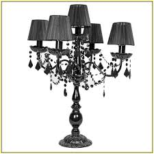nice black chandelier lamp chandelier table lamp black home design ideas