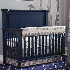 wakefield colors 4 in 1 convertible crib blue nursery furniture