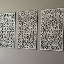 spray painting metal wall art