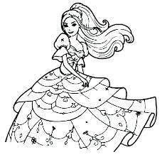 Barbie Coloring Pages For Kids Barbie Coloring Pages Games Online