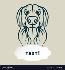 Dog Vector Design Dog And Card Template Icon Design Dog
