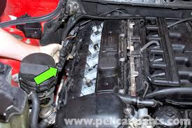 bmw e39 5 series valve cover gasket removal 1997 2003 525i, 528i  at 2003 Bmw 530i Ignition Coil Wire Harness