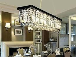 full size of antique bronze rectangular crystal chandelier dining room ceiling fixture light clear lighting modern
