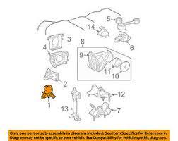 TOYOTA OEM 00-03 Camry-Engine Motor Mount Torque Strut 1236120080 | eBay