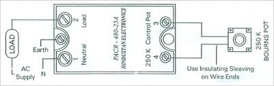 high power phase angle control relays dc to ac solid state relay wiring diagram