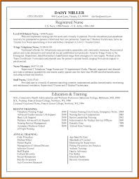 Sample Resume For Registered Nurse Without Experience Philippines