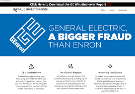 Enron Share Price Chart Ge Shares Drop After Whistleblower Raises Red Flags On Its