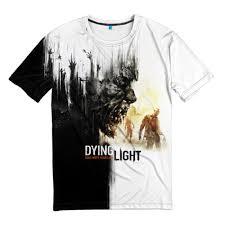 Dying Light The Following T Shirt Amazon Com T Shirt Fullprint Dying Light Clothing