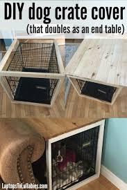 designer dog crate furniture room design plan. Brilliant Design Laptops To Lullabies DIY Dog Crate Cover Inside Designer Dog Crate Furniture Room Design Plan