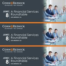 cohnreznick financial services roundtable