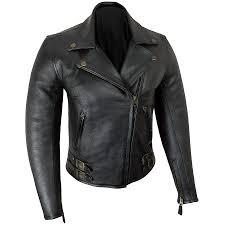 womens elite patrol leather jacket
