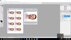2x2 Passport Photo Template How To Make Passport Size Photos In 4x6 Paper Youtube