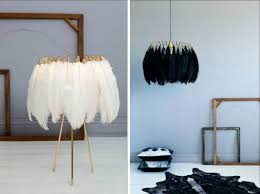 glam lighting. feather table and pendant lamps glam lighting h