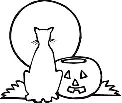 Eenzame Halloween Kleurplaat Gratis Kleurplaten Printen