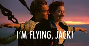 Titanic 40 Quote About Flying Scene Best Scene CQ Delectable Titanic Quotes