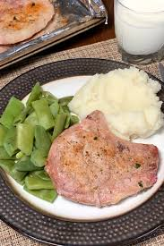 basic oven baked pork chops plowing