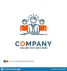 Entrepreneur Logo Design Business Career Employee Entrepreneur Leader Logo Design