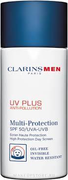 Clarins Men UV Plus Anti-Pollution <b>SPF50</b> - <b>Защитный флюид</b> ...