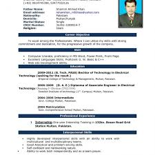 Resume Terrific Work Resume Template Word With Simple Resume