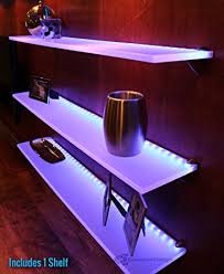 Purple Floating Shelves Fascinating Amazon LED Lighted Floating Shelf 32' Long X 3232 Deep Shelf