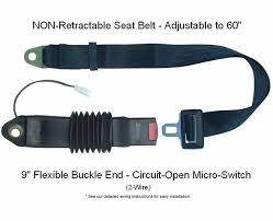 safety micro switch non retractable forklift seat belt circuit safety micro switch forklift tractor non retractable seat belts circuit open
