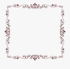 Download Floral Border Png Transparent Image Decorative