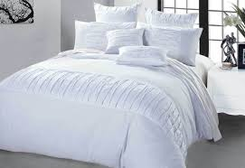 image of white duvet cover queen