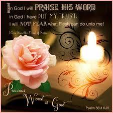 "Psalm 56:4 KJV - ""In God I... - I Can Hear the Sound of Rain | Facebook"