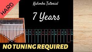 There are a few that offer tabs. Pin By Luca Cecco On Kalimba Musica Tutorial Hard Years