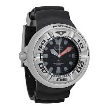 citizen men 039 s bj8050 08e eco drive professional diver black zoom