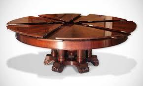 round table that gets bigger debonair big expandable round table also big expandable round table that gets bigger