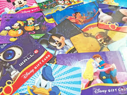disney gift card collection video of lots of diffe disney gift cards available at