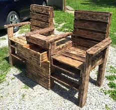 furniture out of wooden pallets. Patio Furniture Made Out Of Wooden Pallets Diy Rustic A Upcycled Pallet Double Chair Bench Make Outdoor Seating P