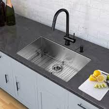 Black Undermount Kitchen Sinks All In One 32 Inch Stainless Steel Undermount Kitchen Sink And