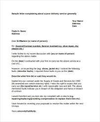 Complaint Letters Samples Gorgeous 48 Complaint Letter Examples Samples PDF DOC