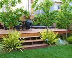 Small Picture Garden Design Ideas With Decking Sixprit Decorps