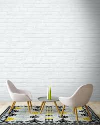 brick painted white painted white brick wallpaper by magnolia the joyful home company painted white brick