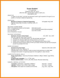 14 Sample Ece Resume Dtn Info