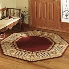 greek key border rug