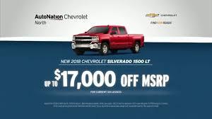 AutoNation July 4th Savings TV Commercial, 'Reputation Score: 2018 Chevrolet Silverado 1500 LT' - Video