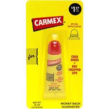 carmex lip balm for cold sores dry