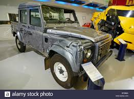 2012 Land Rover Defender 110 James Bond Skyfall Film Car Heritage Motor  Centre Gaydon Warwickshire UK D