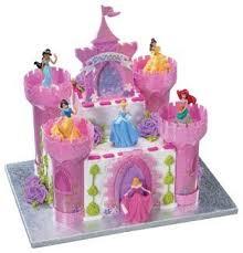 Amazoncom Disney Princess Cake Castle Topper Set Kitchen Dining