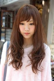 Asian Women Hair Style long hairstyle for asian women with side bangs women hairstyles 6039 by wearticles.com