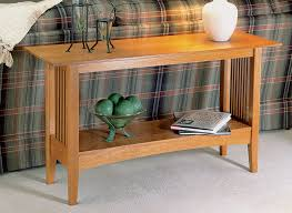 Woodwork mission dinner table plans pdf. Oak Sofa Table Woodworking Project Woodsmith Plans