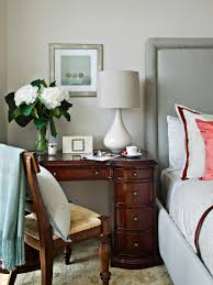 Tables For Bedrooms 9 Nightstand Alternatives For Small Bedrooms Hgtvs Decorating
